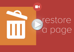 WP Restoring Pages