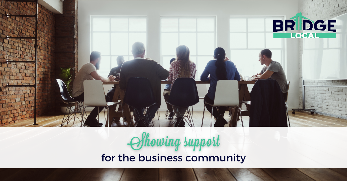 , Showing support for the business community