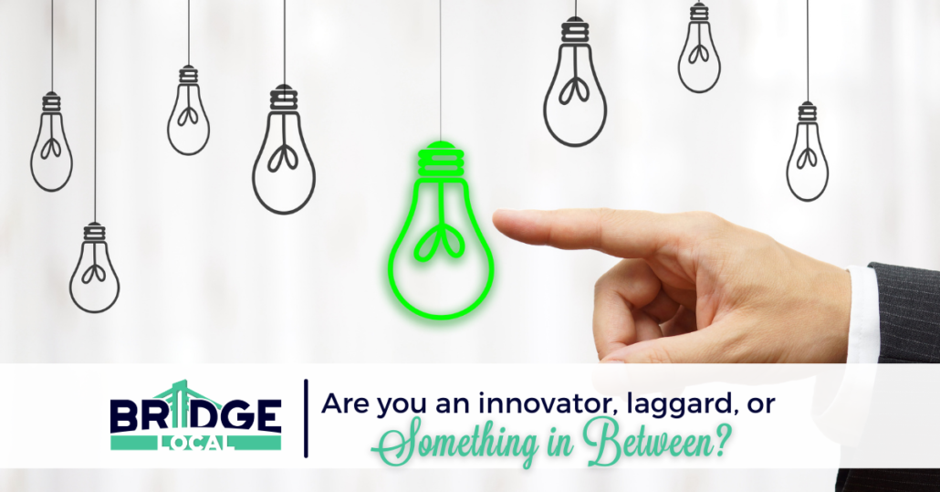 , Are You an Innovator, a Laggard, or Something in Between?